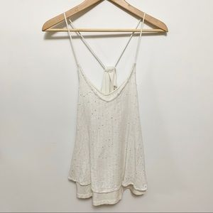 Billabong Strappy Tank Top with Sparkles